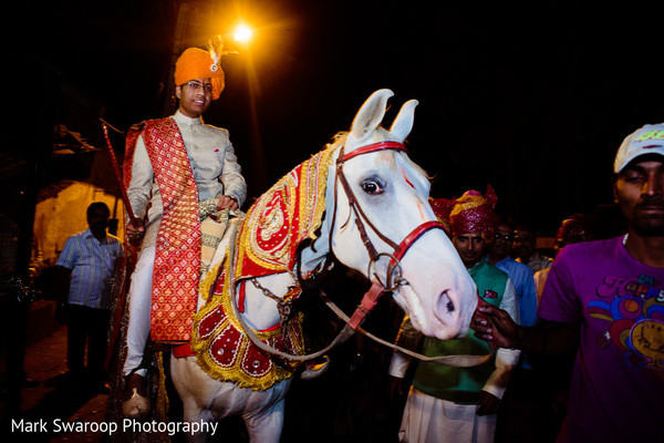 Baraat in Bangalore, India Wedding by Mark Swaroop Photography