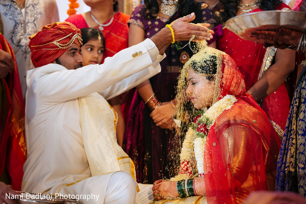 Ceremony in Orlando, FL Indian Wedding by Nami Dadlani Photography