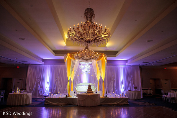 Floral & Decor in Parsippany, NJ Indian Fusion Wedding by KSD Weddings