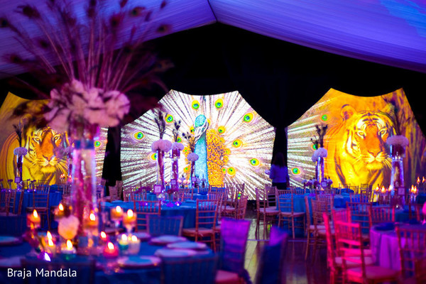 Floral & Decor in Del Mar, CA Indian Wedding by Braja Mandala Wedding Photography