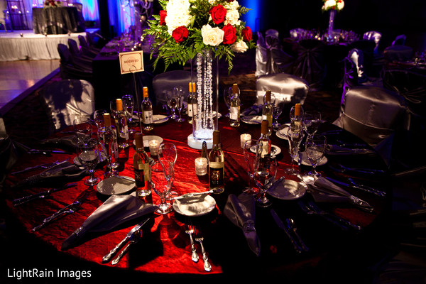 Reception in Scottsdale, AZ Indian Fusion Wedding by LightRain Images