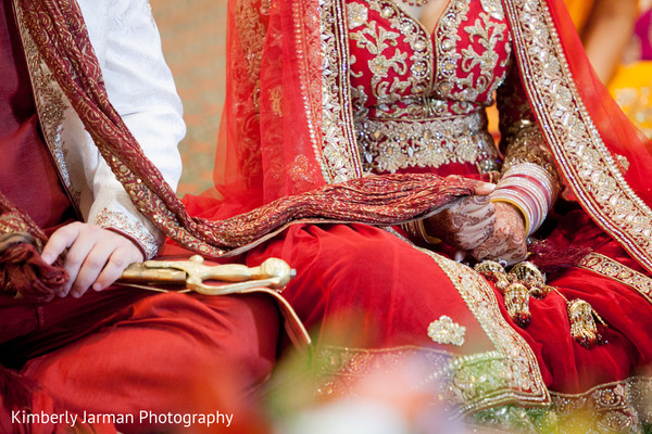 Sikh Ceremony in Scottsdale, AZ Indian Fusion Wedding by Kimberly Jarman Photography