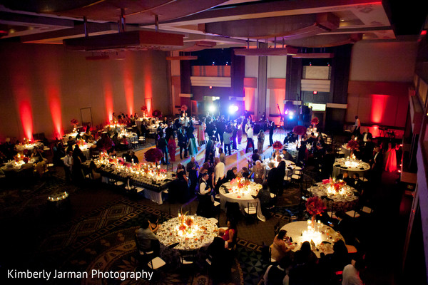 Reception in Scottsdale, AZ Indian Fusion Wedding by Kimberly Jarman Photography