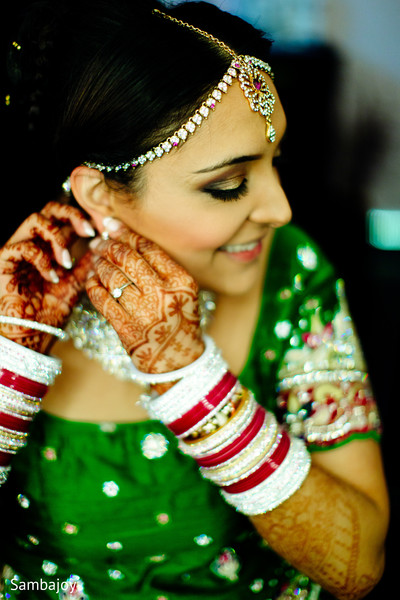 Bridal Jewelry in Winnipeg, Canada Sikh Wedding by Sambajoy