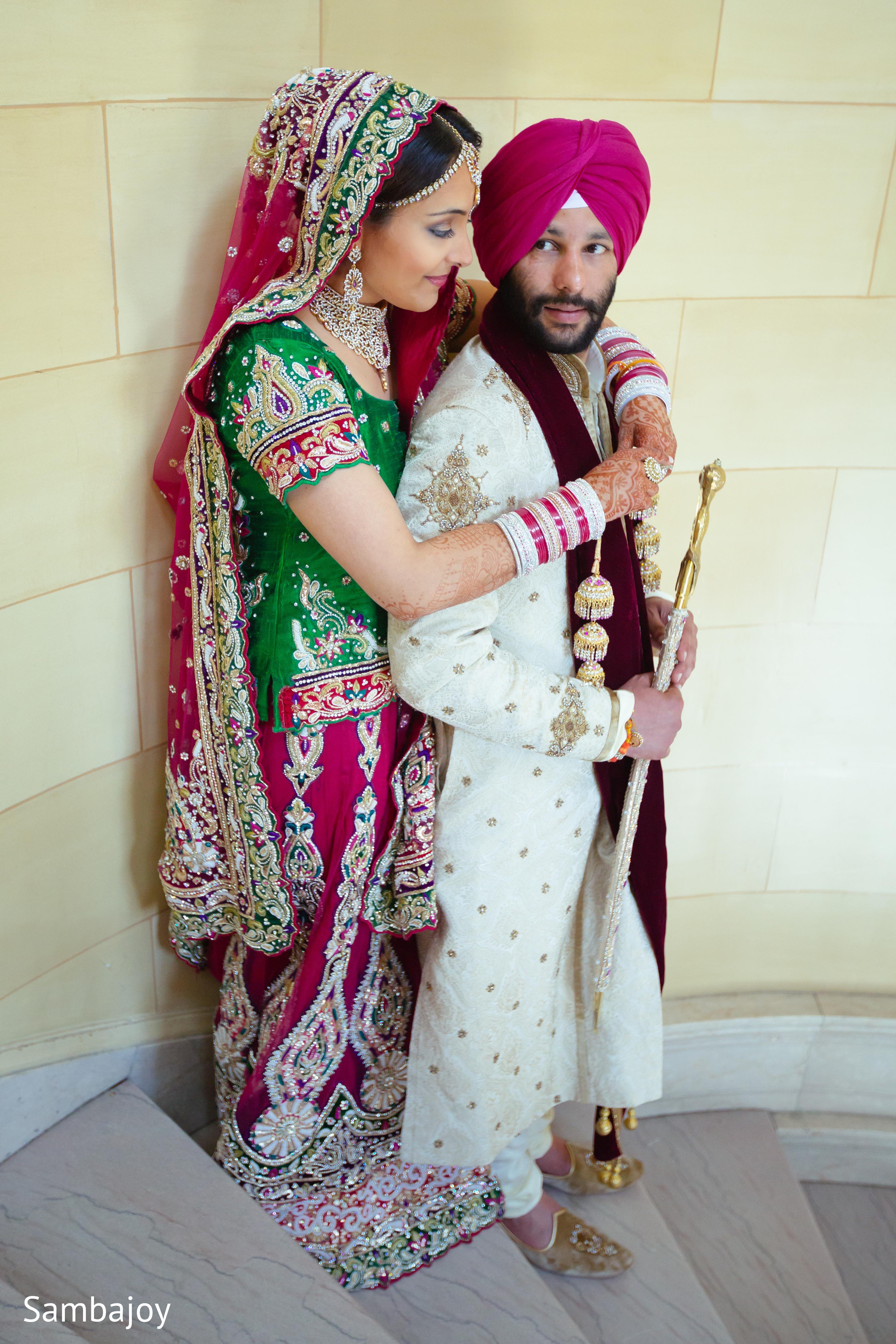Punjabi Wedding Photography Poses Bride And Groom Wedding Photography Poses
