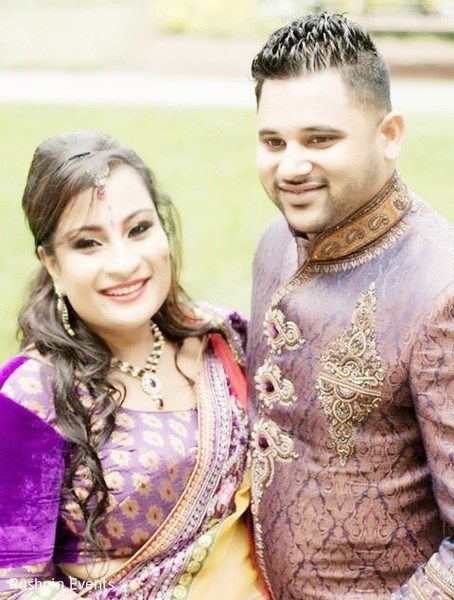 Engagement in Atlanta, GA Indian Engagement by Pushpin Events