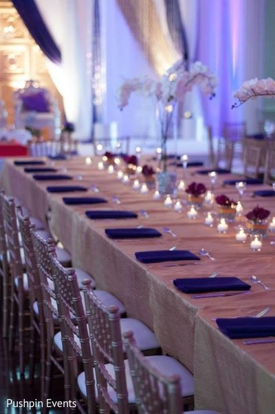 Floral & Decor in Atlanta, GA Indian Engagement by Pushpin Events