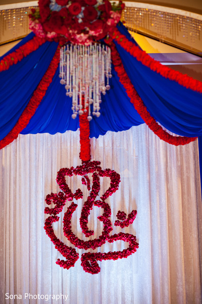 Floral & Decor in St. Petersburg, FL Indian Wedding by Sona Photography