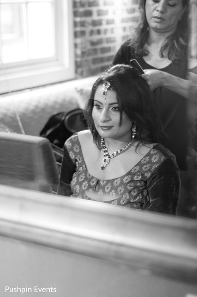 indian bride,bride getting ready,indian bride getting ready,images of indian bride,getting ready images,images of bride,bride,black and white