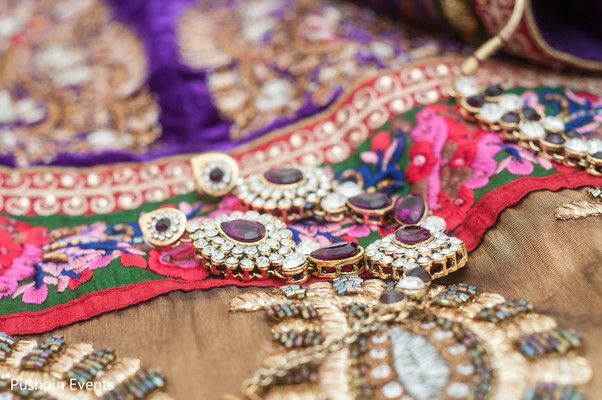 Bridal Jewelry in Atlanta, GA Indian Engagement by Pushpin Events