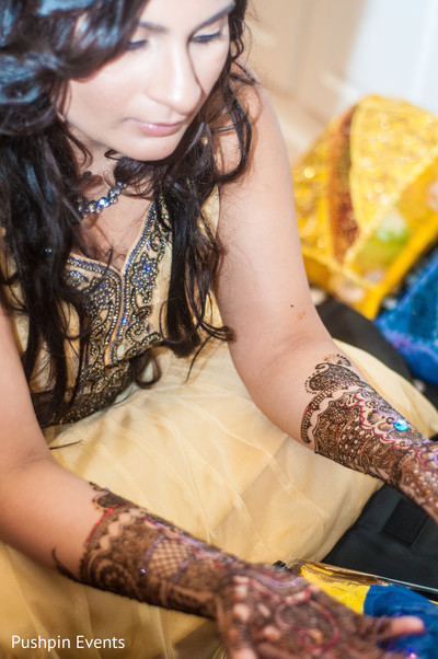 Mehndi Party in Atlanta, GA Indian Engagement by Pushpin Events