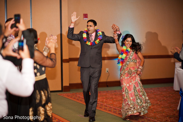Reception in St. Petersburg, FL Indian Wedding by Sona Photography