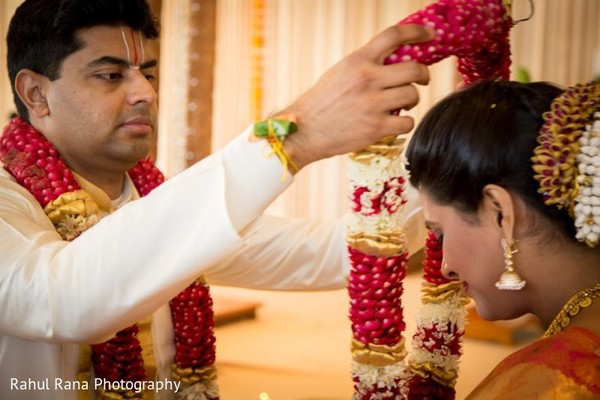 Ceremony in Aurora, IL Indian Wedding by Rahul Rana Photography