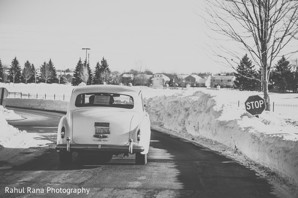 Transportation in Aurora, IL Indian Wedding by Rahul Rana Photography