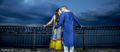 This Pakistani pair poses for pre-wedding portraits!