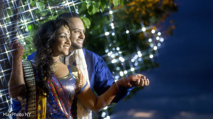 Portraits in Woodside, NY Indian Wedding by MaxPhoto NY