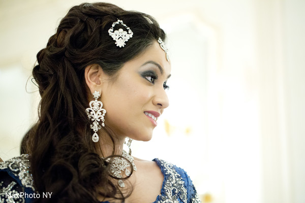 Hair & Makeup in Woodside, NY Indian Wedding by MaxPhoto NY