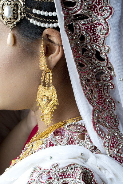 Bridal Jewelry in Woodside, NY Indian Wedding by MaxPhoto NY