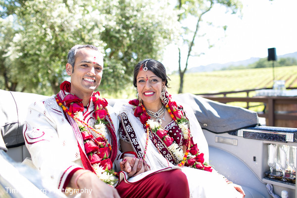 Portraits in Glen Ellen, CA Indian Wedding by Tim Halberg Photography