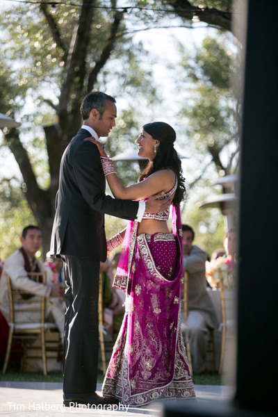 Reception in Glen Ellen, CA Indian Wedding by Tim Halberg Photography