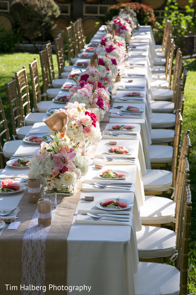 Floral & Decor in Glen Ellen, CA Indian Wedding by Tim Halberg Photography
