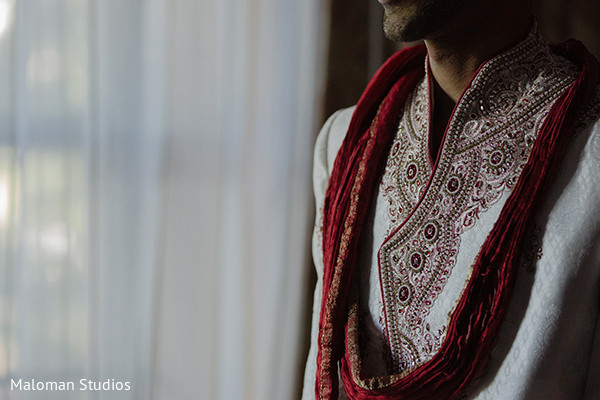 Groom Fashion in Mountain Lakes, NJ Indian Wedding by Maloman Studios