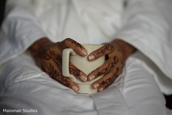 Mehndi Designs in Mountain Lakes, NJ Indian Wedding by Maloman Studios
