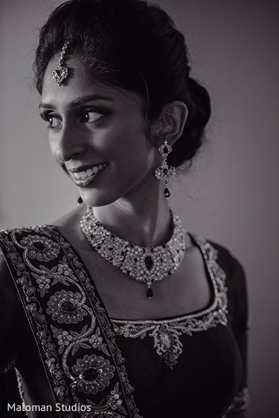 Portraits in Mountain Lakes, NJ Indian Wedding by Maloman Studios