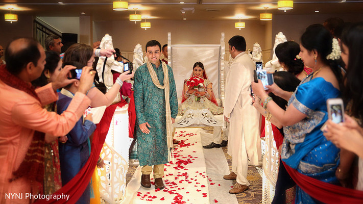 Ceremony in Somerset, NJ Indian Wedding by NYNJ Photography