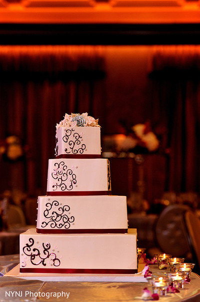 Cakes & Treats in Somerset, NJ Indian Wedding by NYNJ Photography