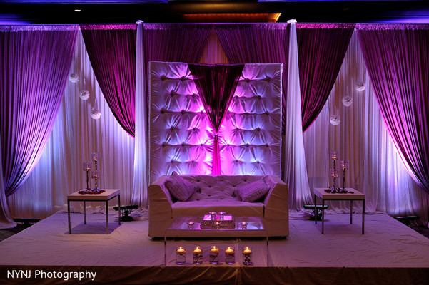Floral & Decor in Somerset, NJ Indian Wedding by NYNJ Photography