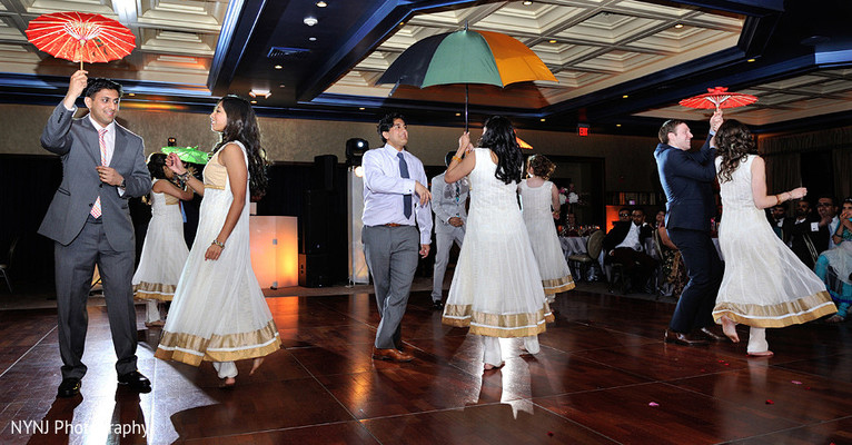 Reception in Somerset, NJ Indian Wedding by NYNJ Photography