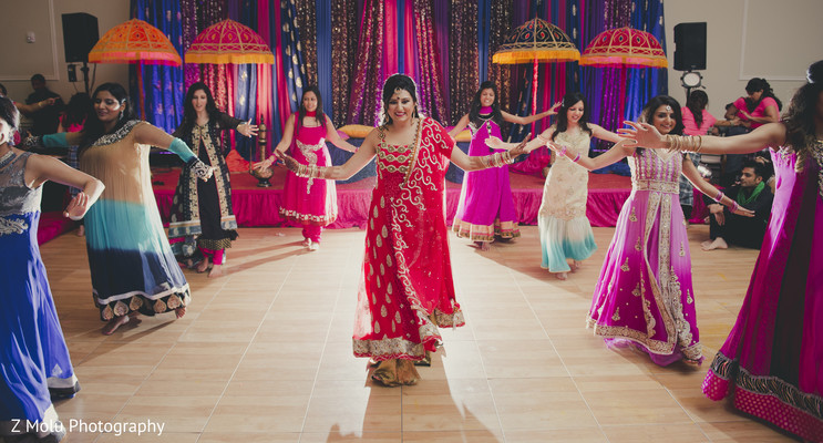 Sangeet in Dallas, TX Pakistani Wedding by Z Molu Photography