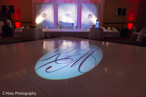 Reception in Dallas, TX Pakistani Wedding by Z Molu Photography