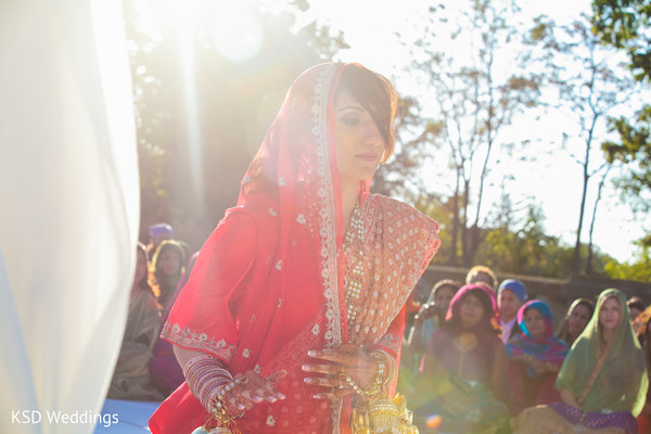 Ceremony in Port Washington, NY Indian Wedding by KSD Weddings