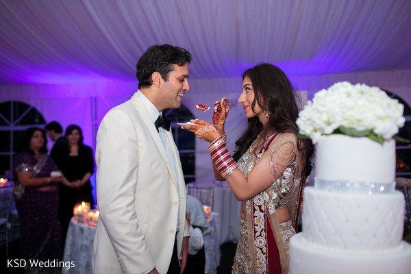 Cakes & Treats in Port Washington, NY Indian Wedding by KSD Weddings