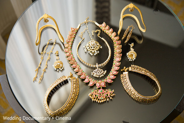 Bridal Jewelry in San Jose, CA Indian Wedding by Wedding Documentary + Cinema