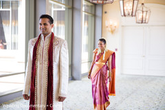 An Indian bride and groom take some precious portraits before they get hitched!