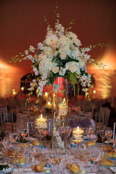 Floral & Decor in Port Washington, NY Indian Wedding by KSD Weddings