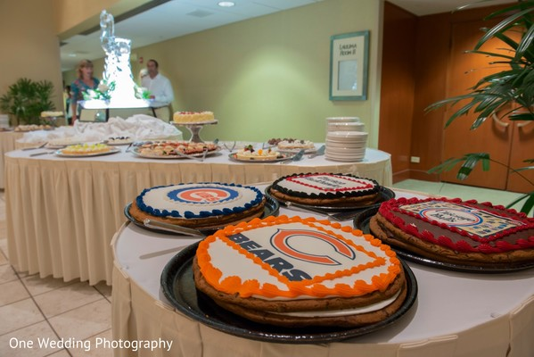 Cakes & Treats in Honolulu, HI Destination Indian Fusion Wedding by One Wedding Photography