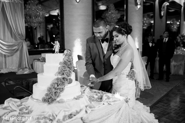 Reception in Woodbury, NY Indian Wedding by MaxPhoto NY