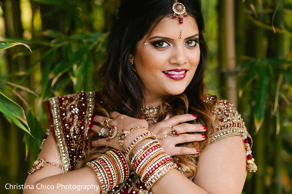 Portraits in Pomona, CA Indian Bridal Photo Shoot by Christina Chico Photography