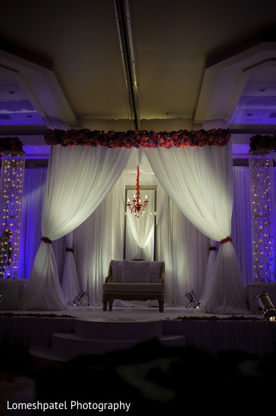 Floral & Decor in Dallas, TX Indian Wedding by Lomeshpatel Photography