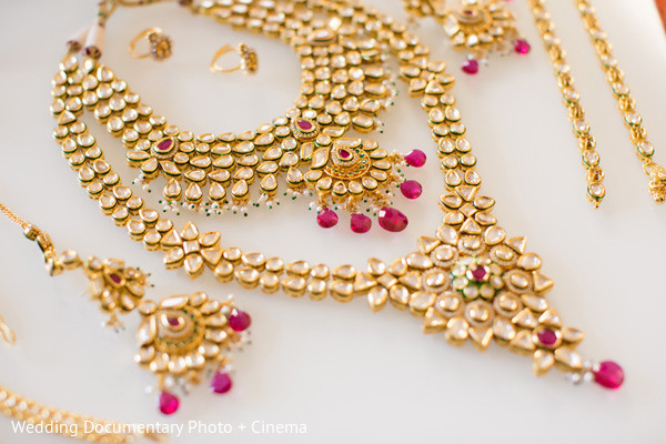Bridal Jewelry in San Francisco, CA Indian Wedding by Wedding Documentary Photo + Cinema