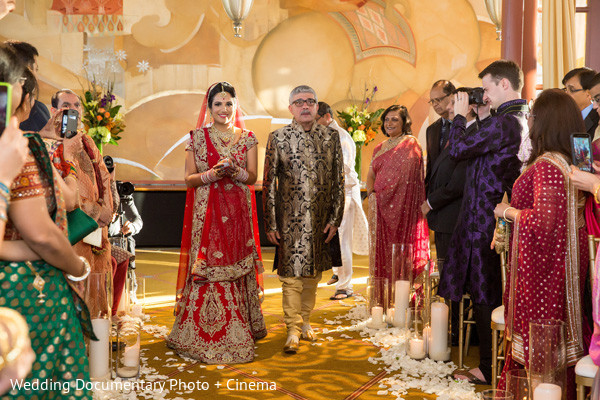 Ceremony in San Francisco, CA Indian Wedding by Wedding Documentary Photo + Cinema