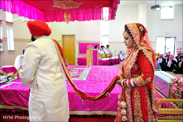 Ceremony in Hamilton, NJ Indian Wedding by NYNJ Photography