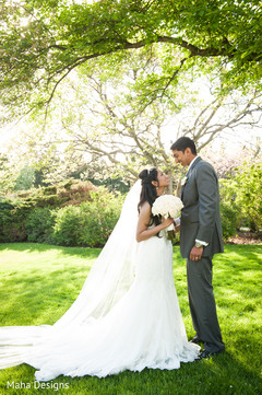 An Indian bride and groom wed in a lovely ceremony!