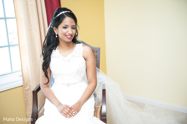 Hair & Makeup in Niles, IL Indian Wedding by Maha Designs