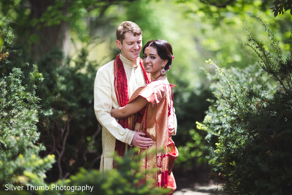 Portraits in Ann Arbor, MI Indian Wedding by Silver Thumb Photography