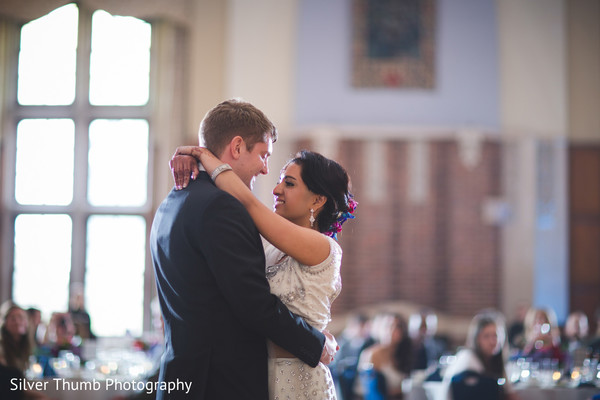 Reception in Ann Arbor, MI Indian Wedding by Silver Thumb Photography